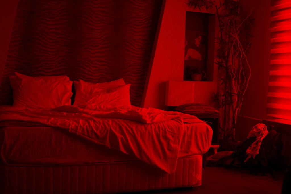 Ambient light in bedroom