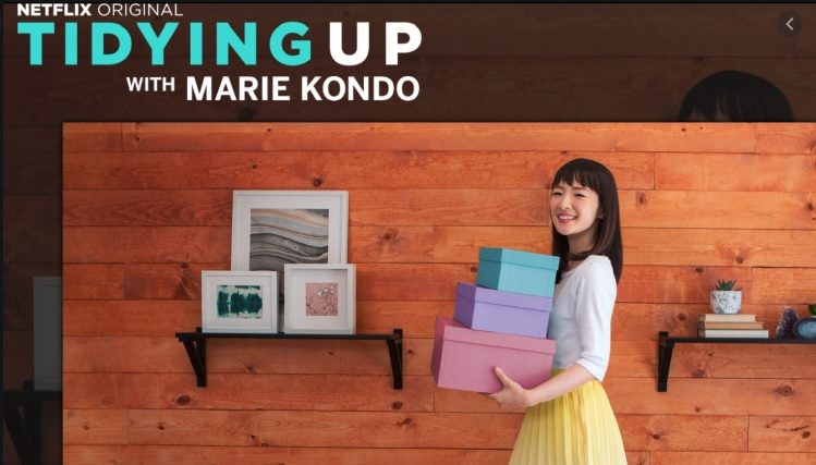 Netflix show Tidying up with Marie Kondo