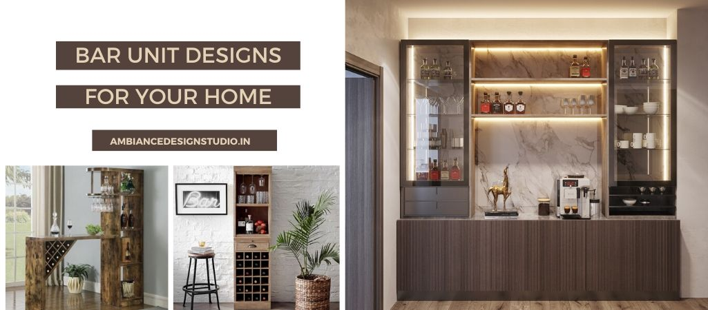 How to design bar at home