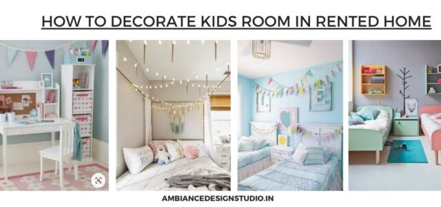 Kids room in rented home
